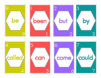 UNO Sight Word- Fry's First 100 Words