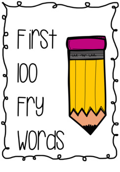 First 100 Fry Words