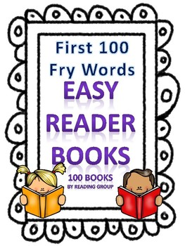 First 100 Sight Words Easy Reader Books