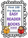 Sight Words Easy Reader Books- First 100