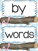 First 100 High Frequency Sight Words: Garden Word Cards