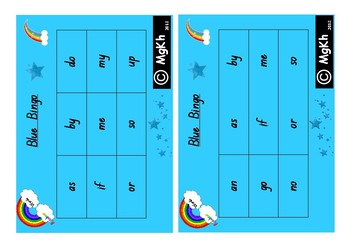 First 100 High Frequency Words Bingo