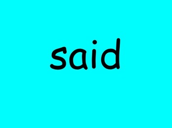 First 100 High Frequency Words (Sight Words) Slideshow - EDITABLE
