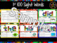 First 100 Lego Sight Word Mats
