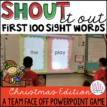 Fry's First 100 Sight Word: Shout It Out (Christmas Edition)