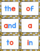 First 100 Sight Words - Flash Cards with Red Vowels