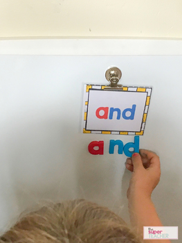 Sight Words Cards with Red Vowels - First 100 Sight Words