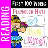 First 100 Words Playdough Mats - Sight Words