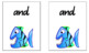 First 100 and 200's Sight Words - Go Fish Playing Cards - White Background