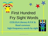 First 100 fry High Frequency/Sight Words Power Point