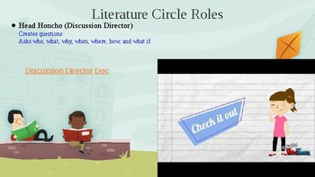 First 11 Days of Literature Circles