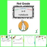 First (1st) Grade Science Notebook ENGLISH