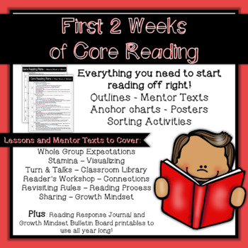 First 2 Weeks of Reading - Beginning of Year Plans and Resources
