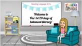 First 20 Days of Balanced Literacy: Editable version