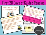 First 20 Days of Guided Reading Power Point Presentation