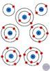 First 20 Elements Electron Arrangements Science Clip Art- Color, Black & White
