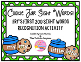 First 200 Fry Sight Words Recognition Activity