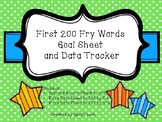 First 200 Fry Word's Goal Sheet