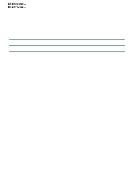 First 3 Verbs - Avoir, Etre, Aller - Minilesson + Worksheet
