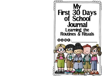 First 30 Days Journal for Benchmark Literacy