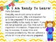 First 30 Days of School: Morning Message Made Simple