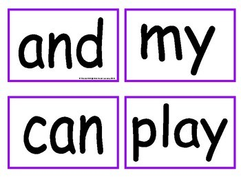 "First ""30"" Sight Words - Flash Cards"