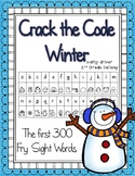 First 300 Fry Sight Word Crack the Code Winter Edition