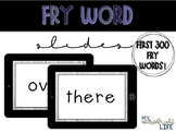 Fry Word Powerpoint (100-300 Fry Word Lists)