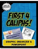 First 4 Caliphs Early Islam Expansion PowerPoint and Graphic Organzier