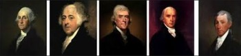 First 5 USA Presidents - Interactive Jeopardy Game Power Point