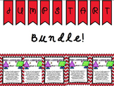 First 5 Weeks of Daily Math Jumpstarts BUNDLE