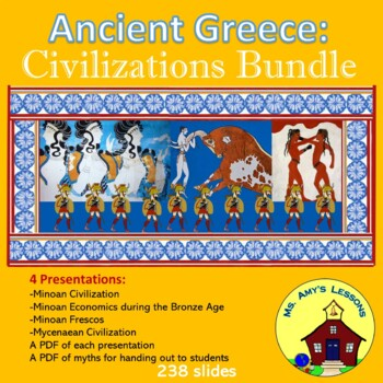 ancient greece: the minoan and mycenaean civilizations powerpoint, Powerpoint templates