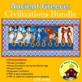 Ancient Greece: THE MINOAN AND MYCENAEAN CIVILIZATIONS Bundle