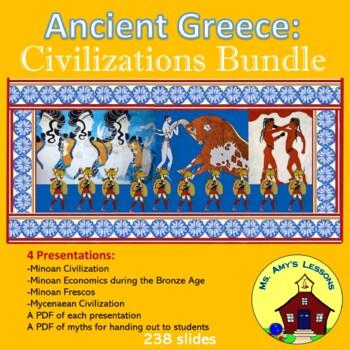 Ancient Greece: THE MINOAN AND MYCENAEAN CIVILIZATIONS Bundle