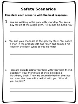 First Aid Booklet