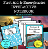 First Aid & Emergencies in Health Interactive Notebook