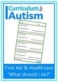 First Aid Health Scenarios Autism Special Education Life Skills