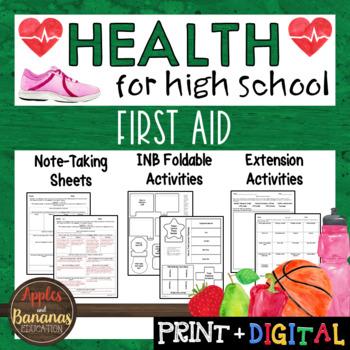First Aid - Interactive Note-Taking Materials