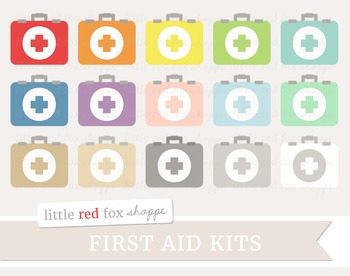 First Aid Kit Clipart; Medical, Medicine, Doctor
