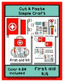 First Aid Kit - Cut & Paste Craft - Super Easy Perfect for Pre-K & Kindergarten