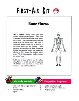 First Aid Kit Lesson