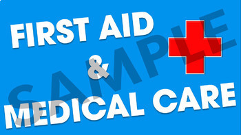 First Aid & Medical Care Power Point Presentation