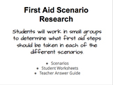 First Aid Scenarios Research