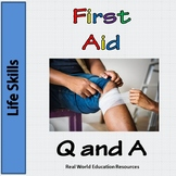 First Aid Quiz Task Cards for Problem Solving