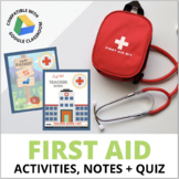 First Aid Unit: Sprains, Breaks, Cuts, Burns, Stings, Hypothermia & More!