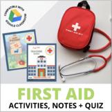 First Aid Unit: Emergencies-Sprains, Breaks, Burns, Hypoth
