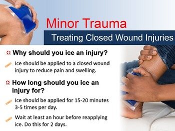 First Aid for Minor Trauma