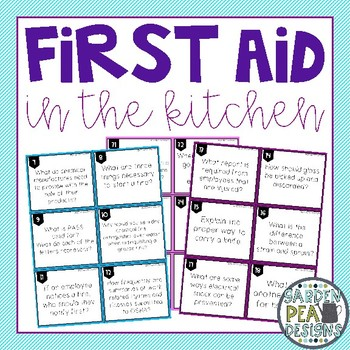 First Aid in the Kitchen
