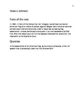 First Amendment Court Analysis