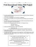 First Amendment PSA Video Project